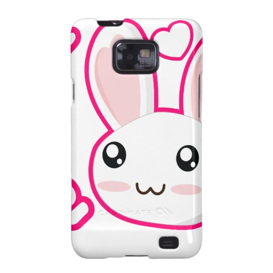 Bunny Love - Rabbit Bunnies Chibi Cute Galaxy SII Cover