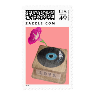 Bunny love song stamp