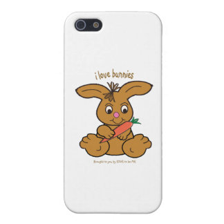 BUNNY - LOVE TO BE ME iPhone 5 COVERS