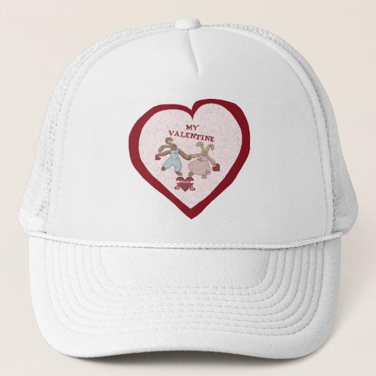 BUNNY LOVE VALENTINE TRUCKER HAT