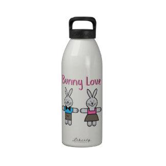 Bunny Love Reusable Water Bottle