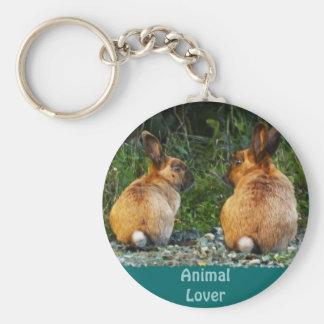 BUNNY LOVE Wild Rabbit Collection Keychain