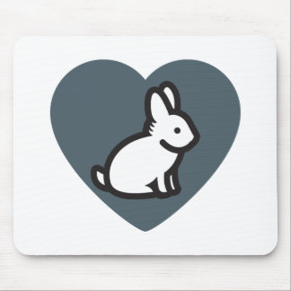 BUNNY LOVERS MOUSE PAD