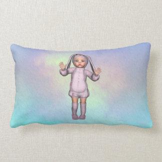 Bunny Loves Baby Throw Pillows