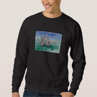 Bunny Lovin aceo Adult Sweatshirt