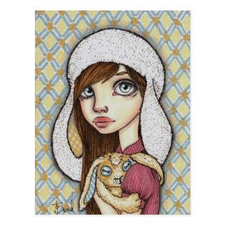Bunny Mania Postcard