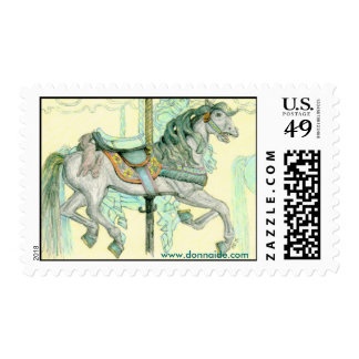 'Bunny'  Merry-Go-Round US Postage Stamp