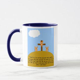 Bunny Messiah Mug