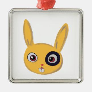 Bunny Metal Ornament