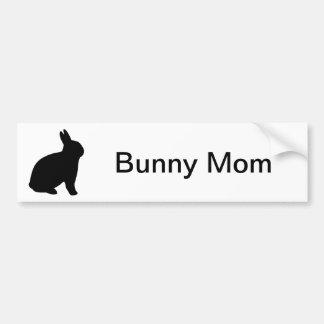 Bunny Mom Bumper Sticker