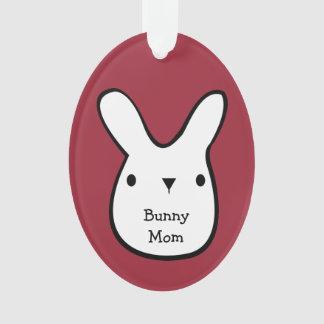 Bunny Mom (Customizable) Ornament