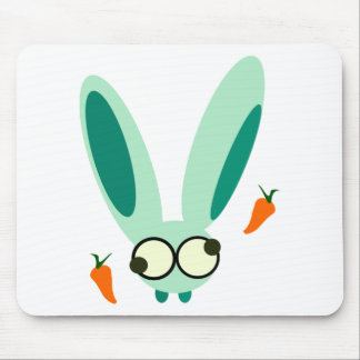 bunny mouse pad