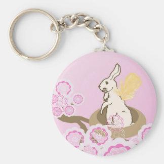 Bunny Nest Keychain