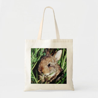 Bunny on the Grass Budget Tote Bag