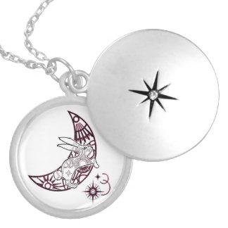 Bunny Over The Moon Sparkle Necklace