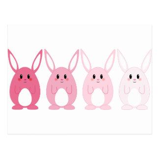 Bunny Pack Postcard