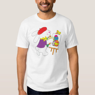 Bunny Painting Eggs Shirt
