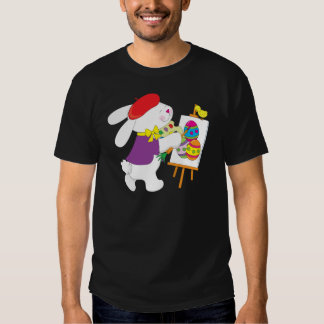 Bunny Painting Eggs T-shirt