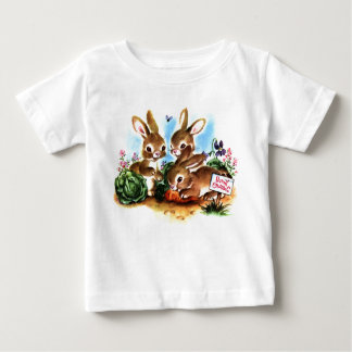 Bunny Patch Baby T-Shirt