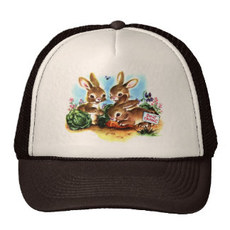 Bunny Patch Trucker Hat