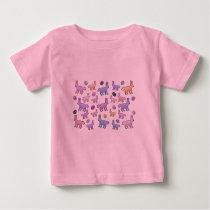 Bunny Pattern Baby T-Shirt