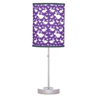 Bunny Pattern Desk Lamp