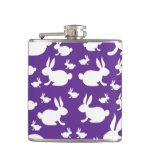Bunny Pattern Flask