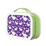 Bunny Pattern Lunch Boxes
