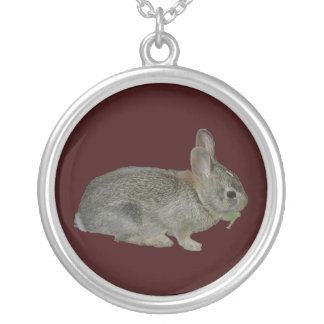 Bunny Photo necklace