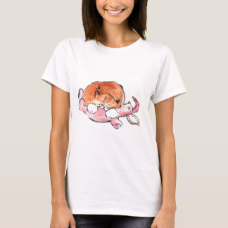 Bunny Pillow for Kitty T-Shirt