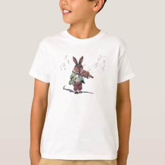 Bunny Playing the Violin T-Shirt
