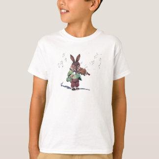 Bunny Playing the Violin T-Shirt