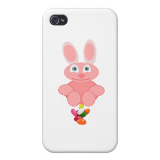 Bunny Poop Jelly Beans Case For iPhone 4