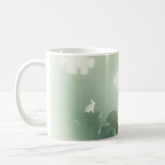 BUNNY Puzzle Land Jigsaw Clouds Grass Customizable Coffee Mug
