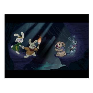 Bunny Quest Postcard