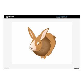 """Bunny Rabbit 15"""" Laptop Skin"""