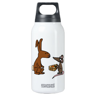 Bunny Rabbit and Mouse SIGG Thermo 0.3L Insulated Bottle