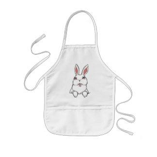 Bunny Rabbit Apron Easter Bunny Kid's BBQ Apron