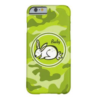 Bunny Rabbit bright green camo camouflage iPhone 6 Case