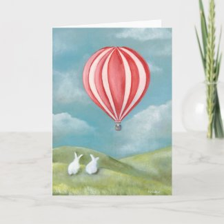 Bunny Rabbit Card card