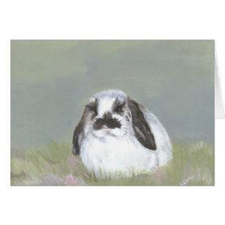Bunny Rabbit Card
