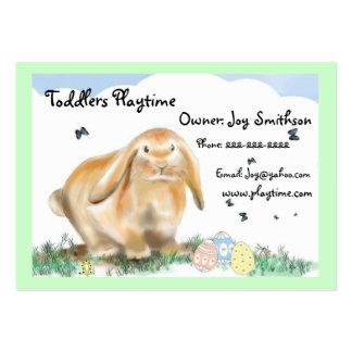 Bunny Rabbit-Children's store Business Cards