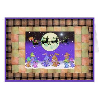 Bunny Rabbit Christmas Cards