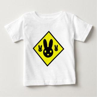Bunny Rabbit Crossing Sign T Shirts