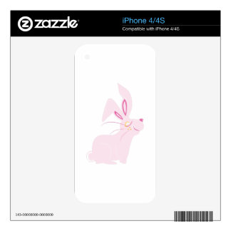 Bunny Rabbit Decal For The iPhone 4