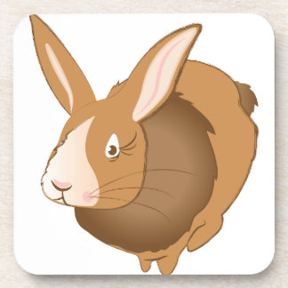 Bunny Rabbit Drink Coaster