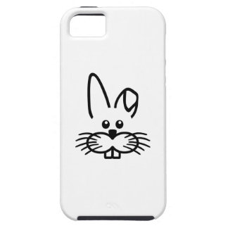 Bunny rabbit face iPhone 5 cover