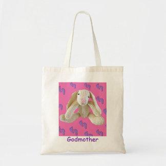 Bunny Rabbit Godmother birthday christmas present Tote Bag