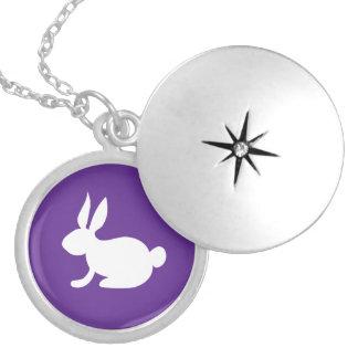 Bunny Rabbit Locket Necklace