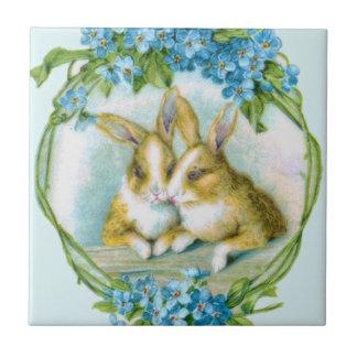 Bunny Rabbit Love Tile
